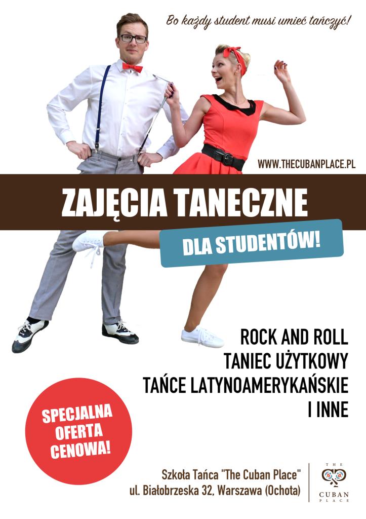 zajęcia taneczne dla studentów